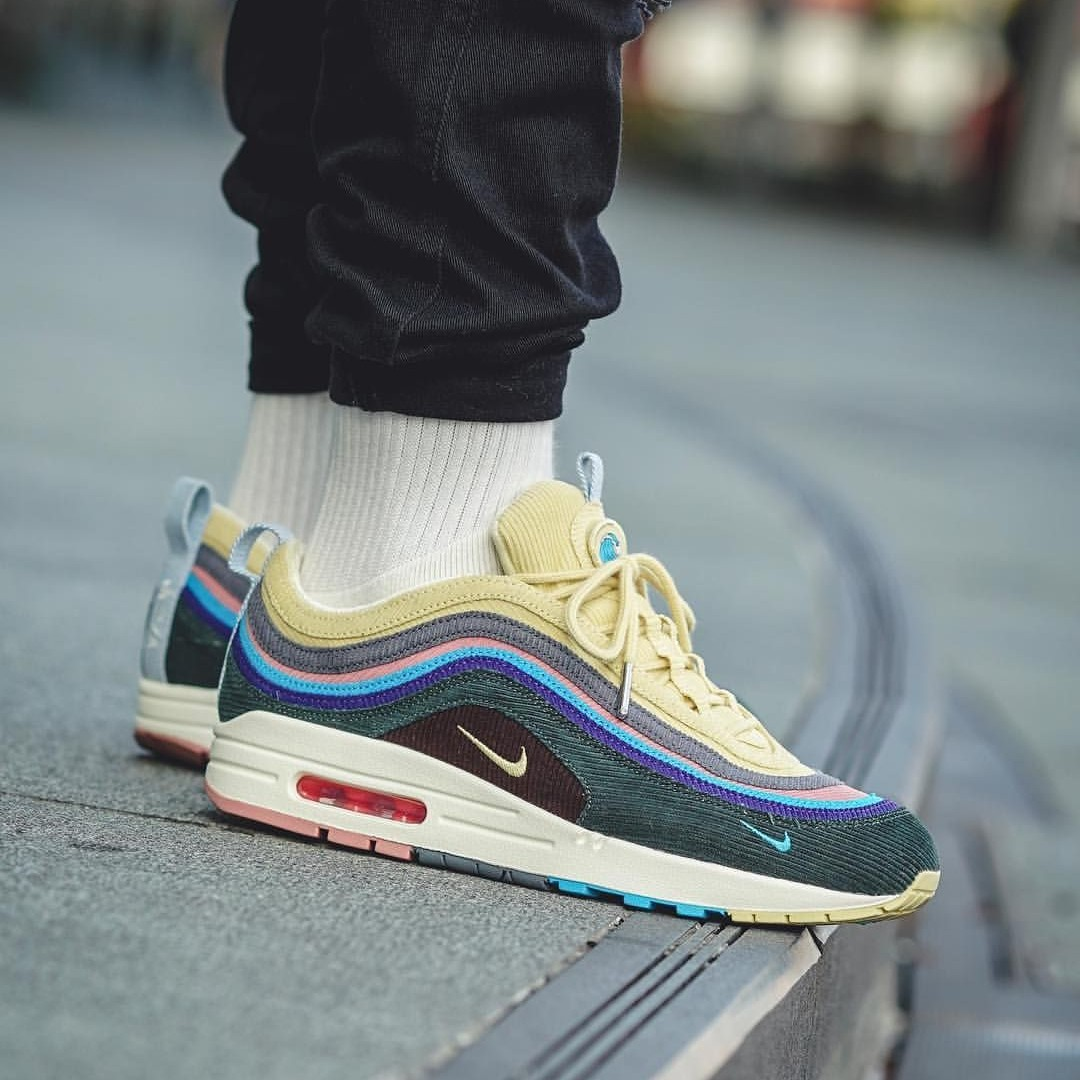 new product 029f7 e1df4 Sean Wotherspoon x Nike Air Max 97, Women's Fashion, Shoes ...
