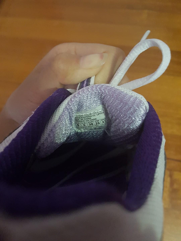 Skechers Shape-Ups in White & Purple