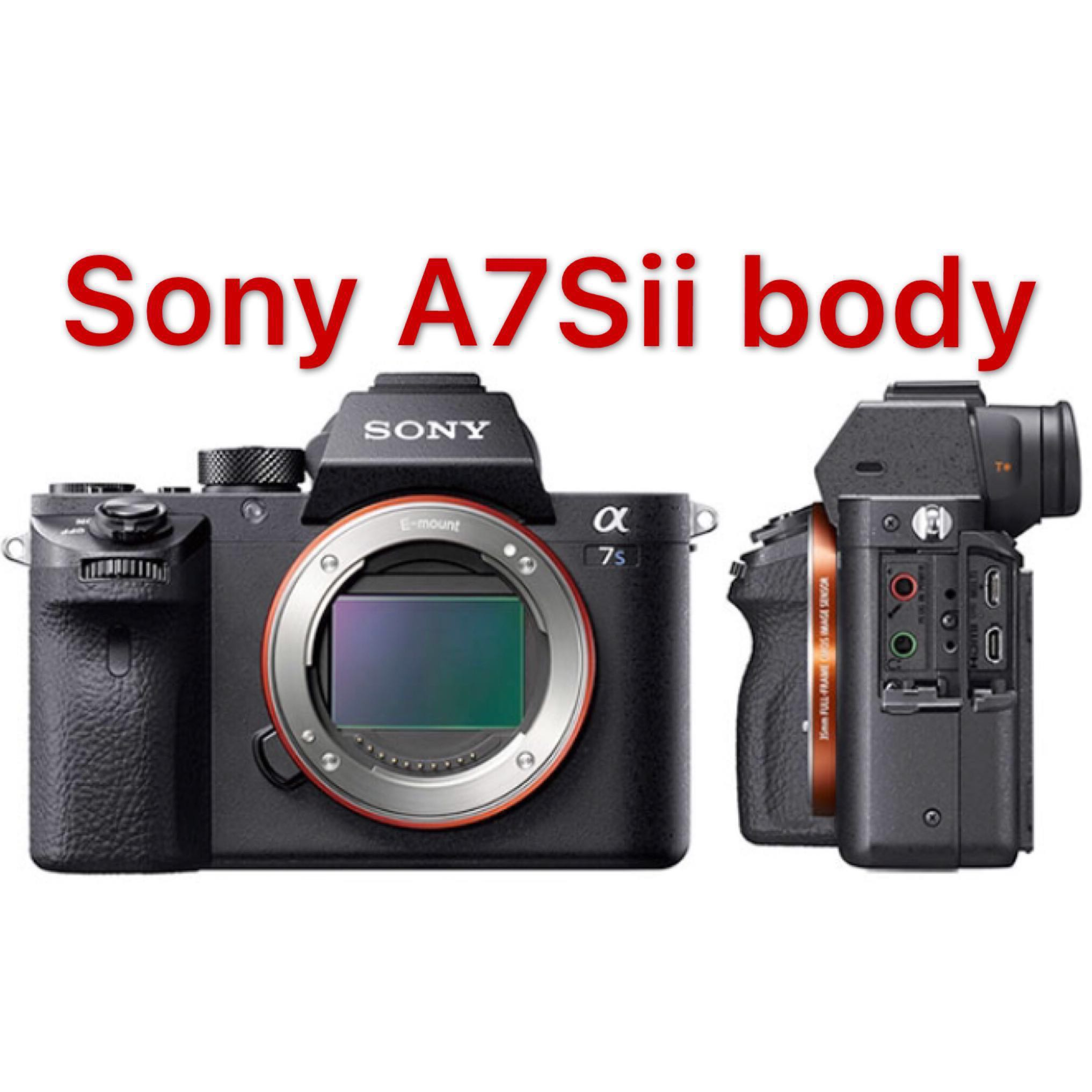 Sony Alpha A7s Ii Mirrorless Digital Camera Body Only Photography A7r Photo
