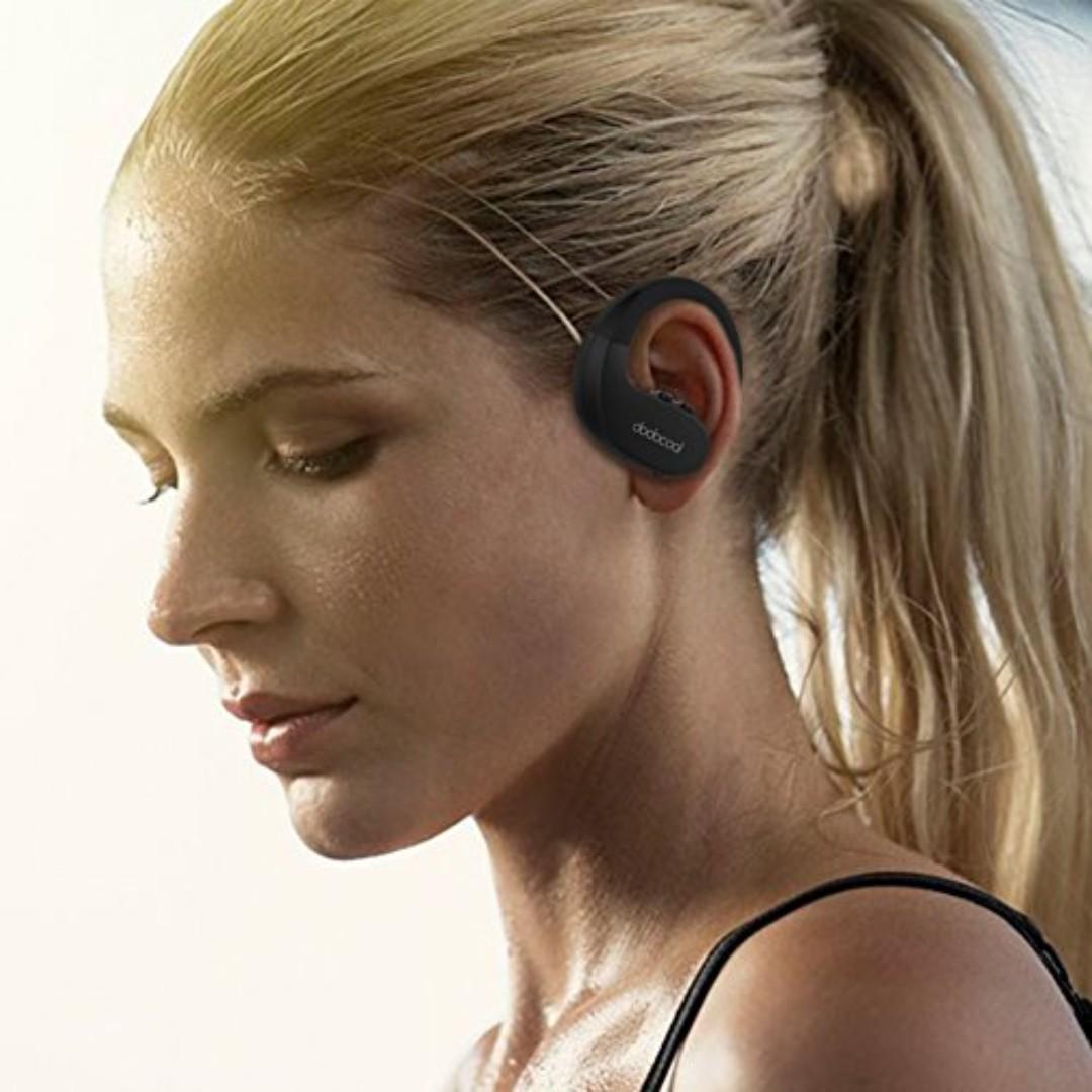 Sports Noise Canceling Bluetooth Earphone Stereo Wireless