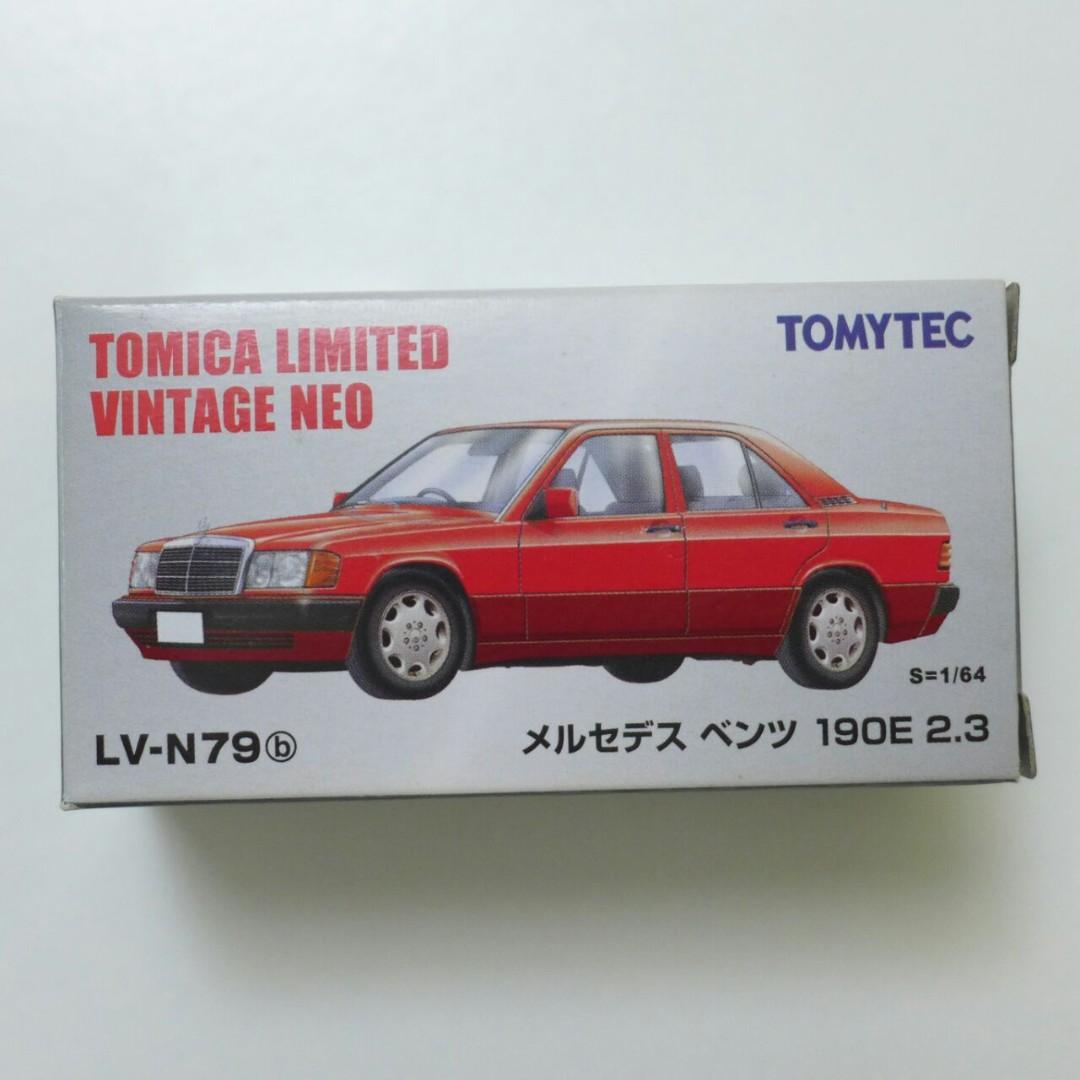 Tomica Limited Vintage TLV LV-N79 Mercedes Benz 190e