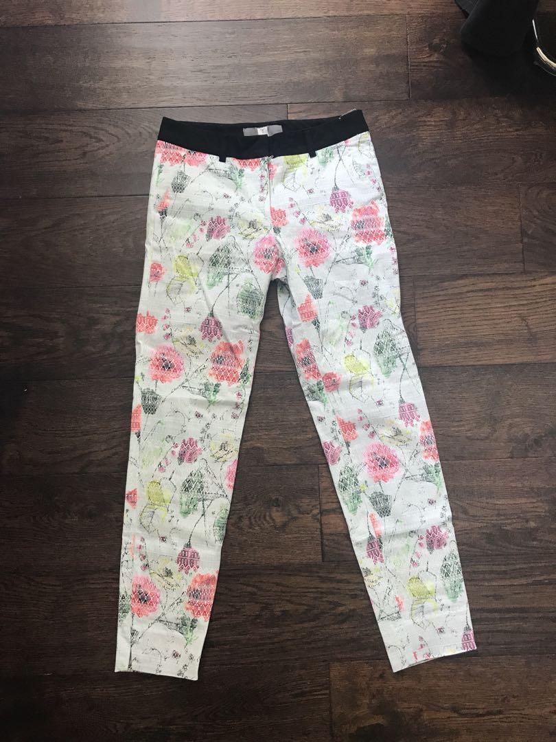 Tristan floral trousers