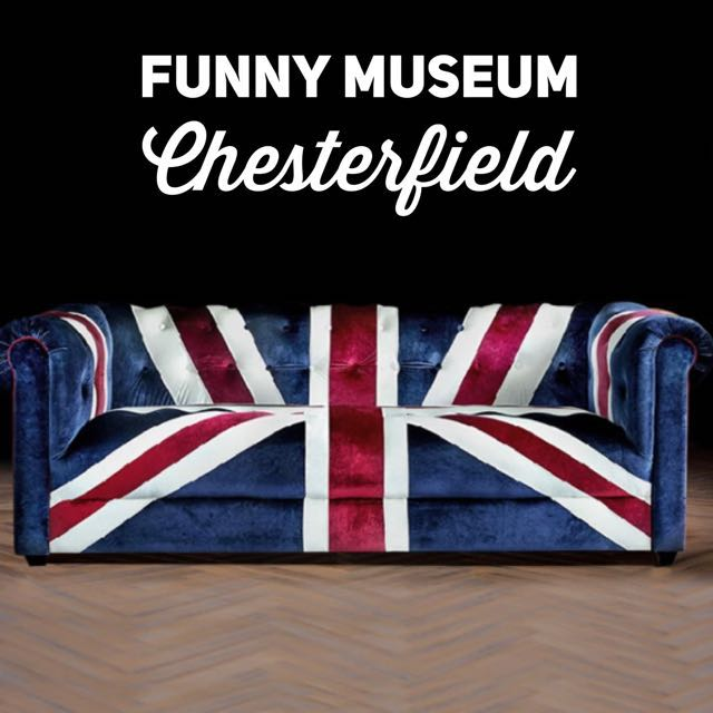 Union Jack Fabric Sofa Chesterfield Furniture Home Decor On Carousell