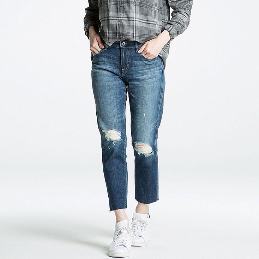 6ecd022f76 uniqlo boyfriend slim fit jean BF Jean, Women's Fashion, Clothes ...