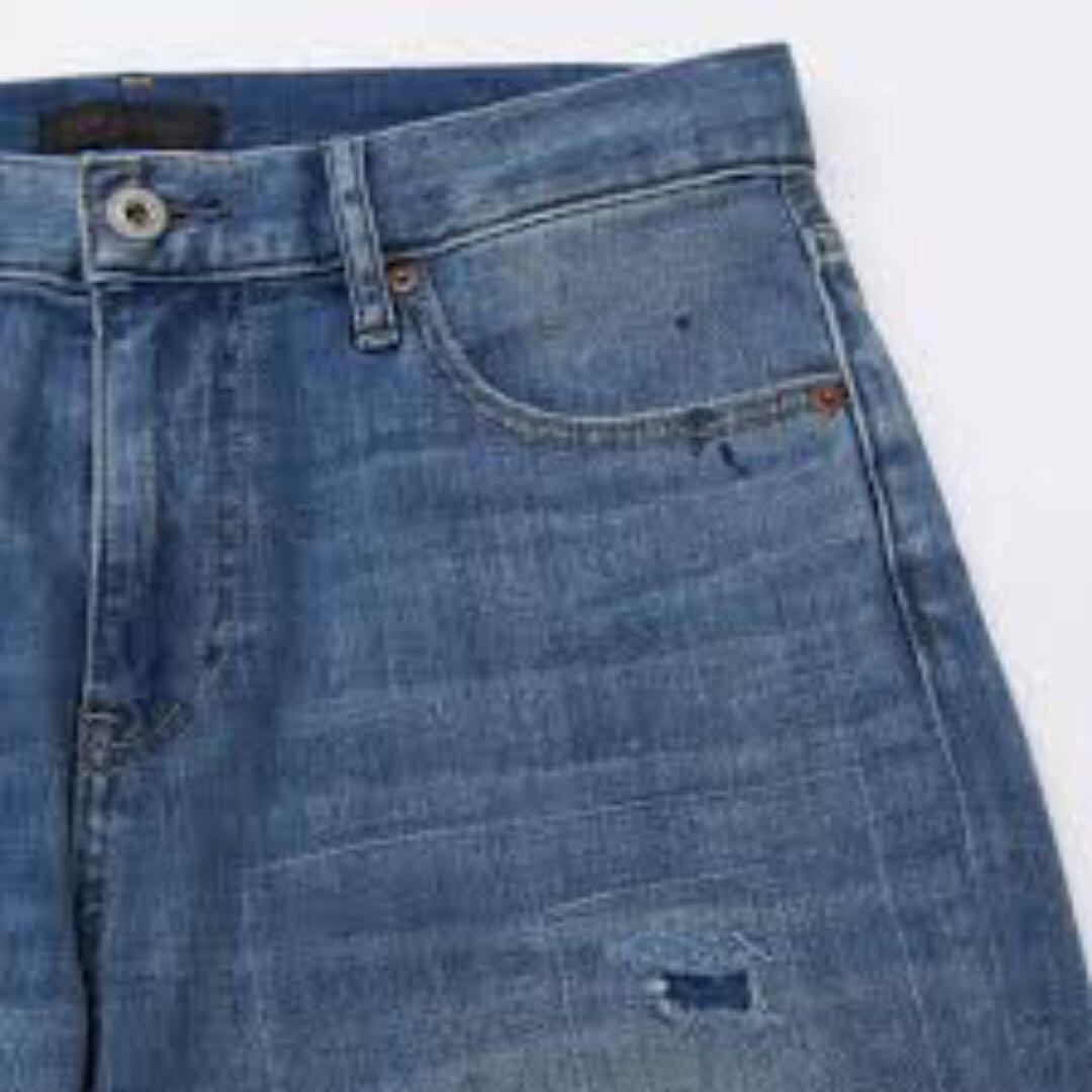 0097067771 uniqlo boyfriend slim fit jean BF Jean, Women's Fashion, Clothes, Pants,  Jeans & Shorts on Carousell