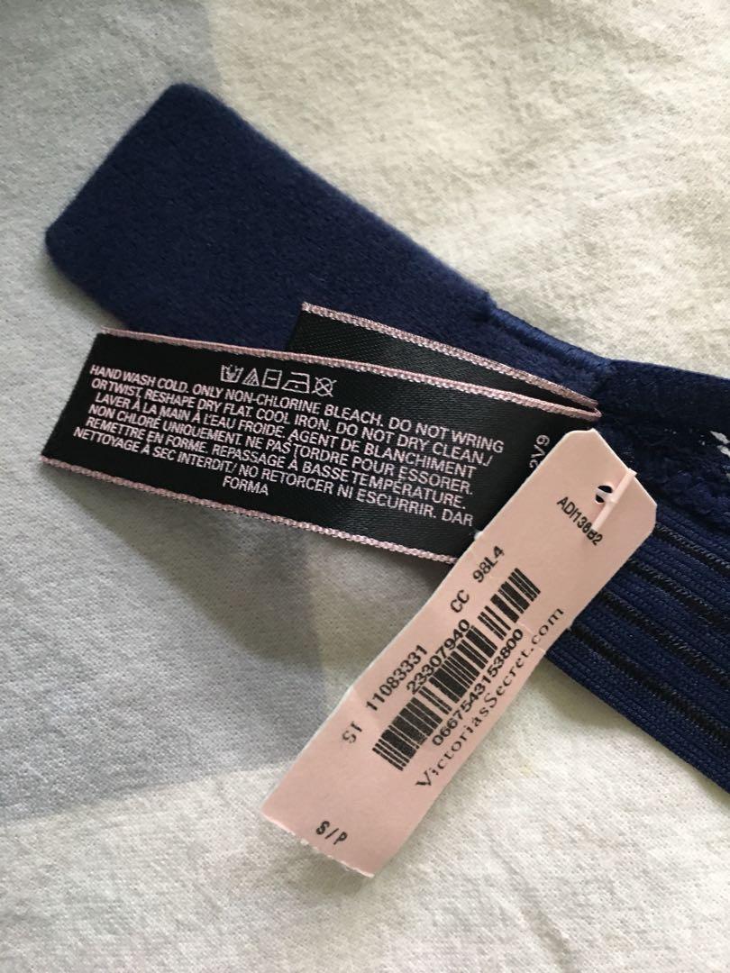 Victoria's Secret bralette with tags