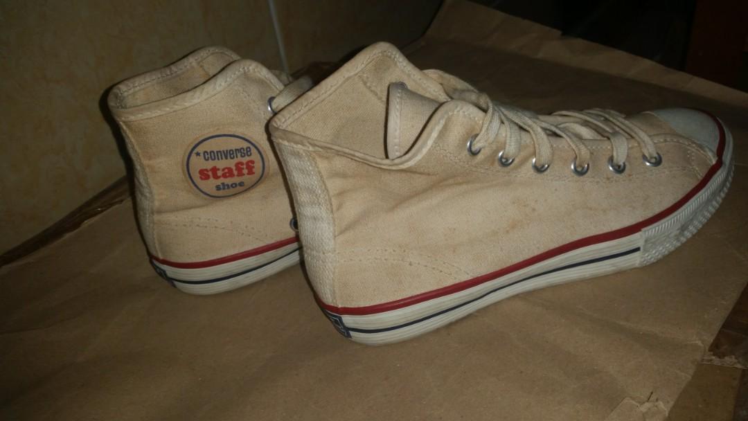 c494f38a2d0115 Vintage 60s Converse Staff Shoe Sneakers