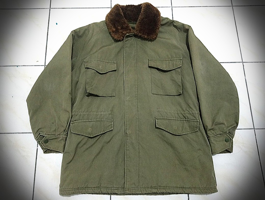 Vintage Big John Army Field Jacket
