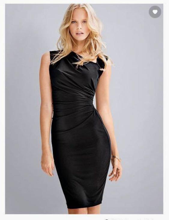 Secret Asymmetrical Shift Dress