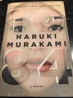 1Q84 by Haruki Murakami (Hardcover)