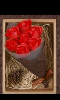 🚚 香皂花禮盒 #handmade #母親節