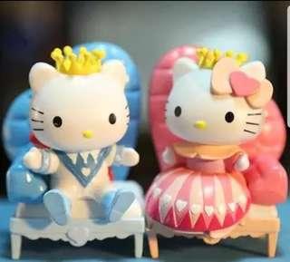 GSS !!! Hello Kitty Figurine : Daniel & Kitty Series