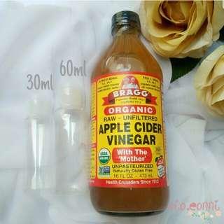 Bragg Apple Cider Vinegar Cuka Apel - Share in Bottle