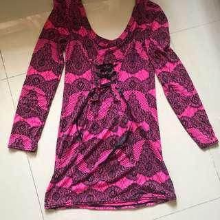 Corset Style Long Top/Dress