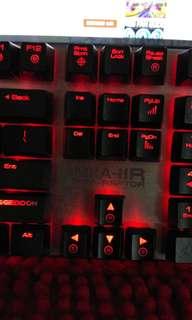 Mech gaming RGB keyboard