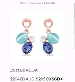 Pica Lela 18k rose gold Earring