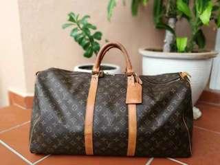 Louis Vuitton LV keepall 55 travel