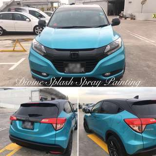 Honda vezel Spray Painting Service