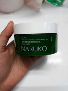 NARUKO TEA TREE SHINE CONTROL AND BLEMISH CLEAR NIGHT GELLY