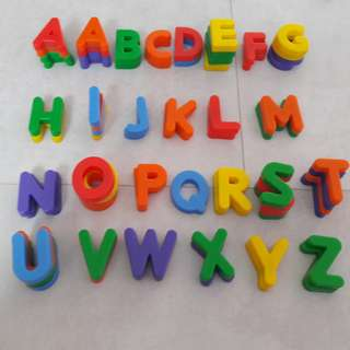 Magnetic Alphabets & Numbers