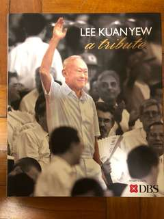LEE KUAN YEW a tribute limited edition hard cover