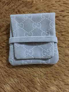 Authentic Gucci Jewelry Pouch