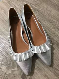 H&M Silver Shoes (Size 37)
