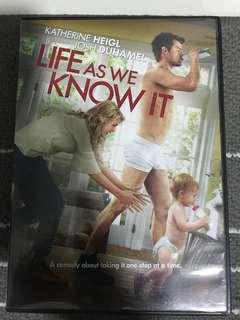 Life as We Know It Movie DVD