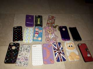 Take all iphone 5/5s cases read description