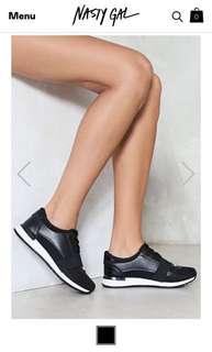 Nasty Gal On The Run Sneaker