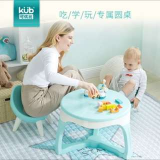 BN toddler table in mint