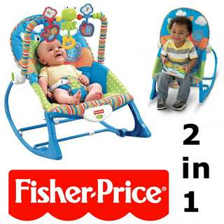Fisher-price 2in 1 rocker chair