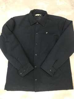 Descendant nylon coach jacket size m
