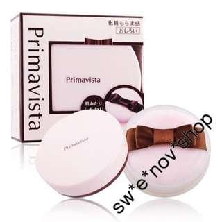 包郵 📦Sofina Primavista Face Loose Powder 完美持妝蜜粉碎粉 長時間抑制脫妝和油光12g