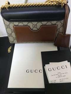 全新 gucci 有單有盒有塵袋