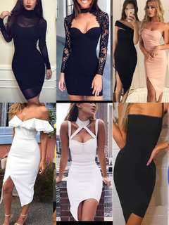 PO | cocktail / party / dinner bodycon bandage dresses
