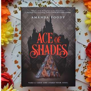 [Signed] Ace of Shades Limited Exclusive Hardback Cover with postcards and author letter