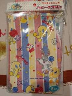 🚚 日本拋棄式紙圍兜(10入)
