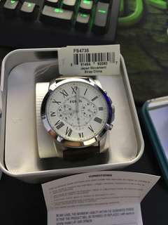 Fossil watch authentic FS4735