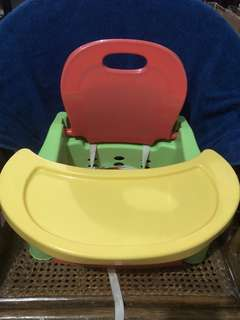 Kiddie Booster Seat with removable table