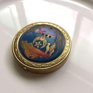 西亞風格復古鏡盒 粉餅盒