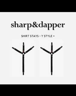 Shirt stay - Sharp and Dapper London