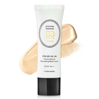 ETUDE Precious Mineral Beautifying Block BB Cream Matte SPF50+ PA+++