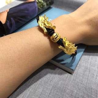 real gold dragon