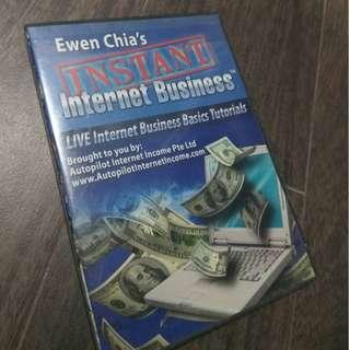 Ewen Chia's Instant Internet Business DVD