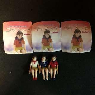 杯緣子 緣子 緣子小姐 限定 Thailand toy expo 限量 一套3隻