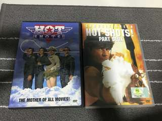 Hot Shots 1&2 Movie dvd