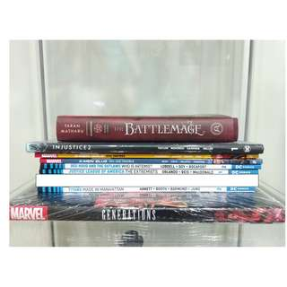 Graphic Novels & Books
