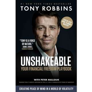 Unshakeable: Your Financial Freedom Playbook by Tony Robbins - EBOOK