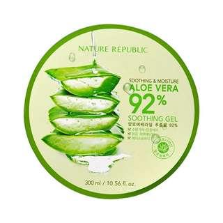 Soothing & Moisture Aloe Vera 92% Soothing gel